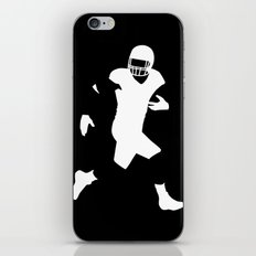 Football player iPhone & iPod Skin