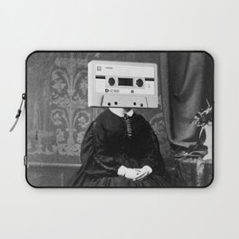 Faces of the Past: Audio Cassette Laptop Sleeve