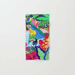 Jungle Party Animals Hand & Bath Towel