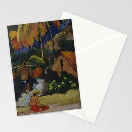 Paul Gauguin - Mahana Maa Stationery Cards