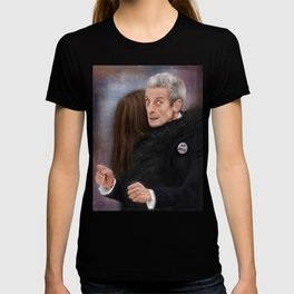 12th Doctor - Not a hugging person T-shirt