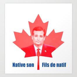 Native Son. Art Print