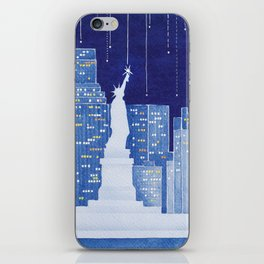 New York, Statue of Liberty iPhone Skin