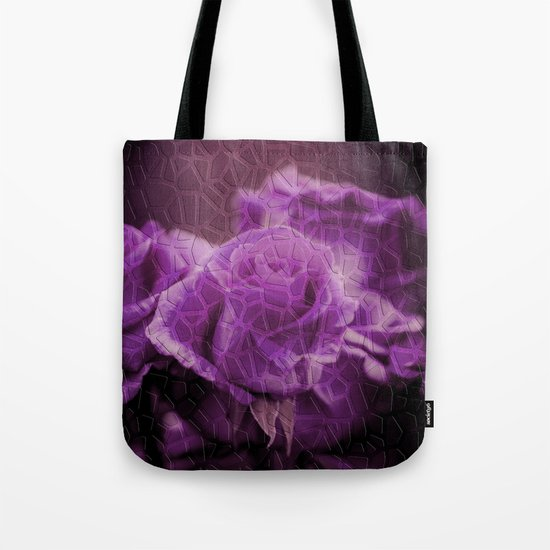 PURPLE ROSES (flowers collection) Tote Bag