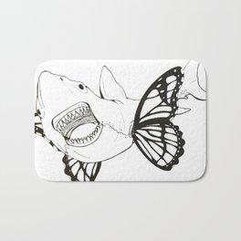 Teeth and wings Bath Mat
