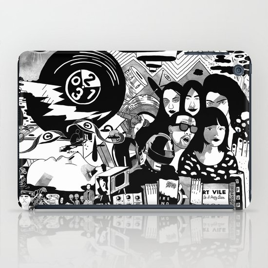 Sound & Vision: 2013 in Music by Steven Fiche iPad Case