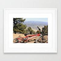 denver Framed Art Prints featuring Denver by Chris Root