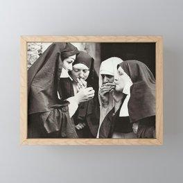 The Great Nuns Framed Mini Art Print
