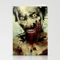 dead Stationery Cards featuring UNDEAD by Fresh Doodle - JP Valderrama