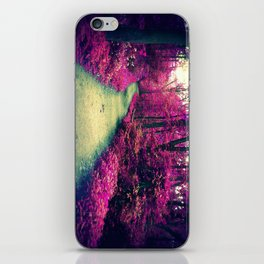 Mystical Path in Forest Park, Forest, Woodlands iPhone Skin