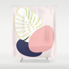 Spring Monstera #society6 #spring Shower Curtain