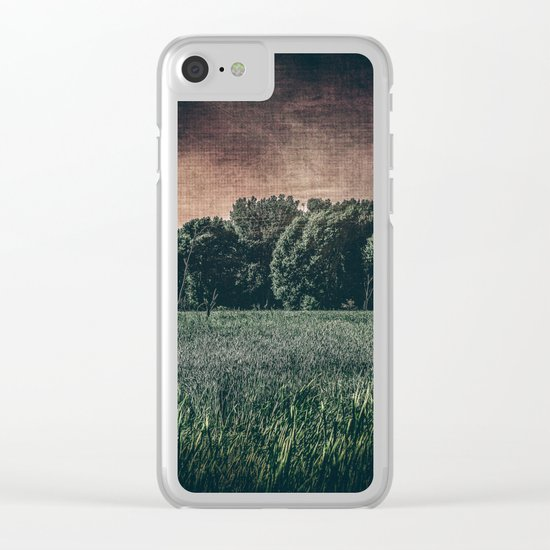 Twilight Dream Clear iPhone Case