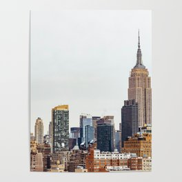 The New York Cityscape City (Color) Poster