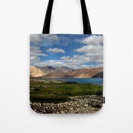 Lakeside Pangong Tote Bag