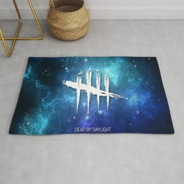 Dead By Daylight x Ultra Blue Galaxy  Rug