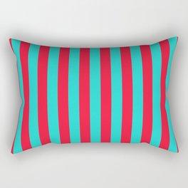 Blush Stripes Rectangular Pillow