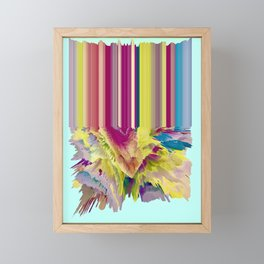 Juicy Framed Mini Art Print