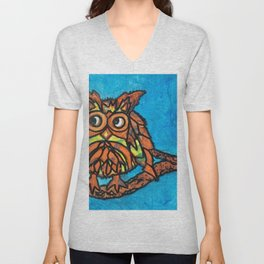 Little owl Unisex V-Neck