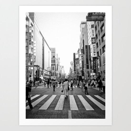 Ginza Art Print