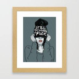 Still Not Framed Art Print