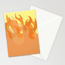 Pastel Flames Stationery Cards