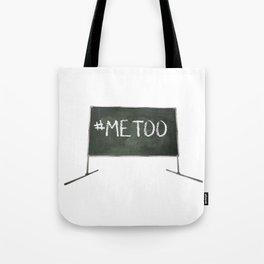 Me Too Chalkboard Tote Bag