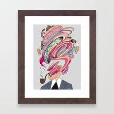 Mesh Head Framed Art Print