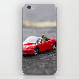 Pedindo Carona iPhone Skin