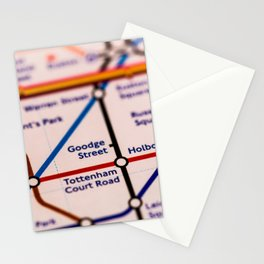 Going (London) Underground Stationery Cards