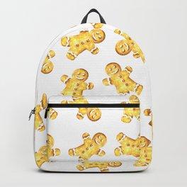 Cute Gingerbread Man Christmas Design Backpack