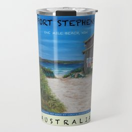 Travel Poster One Mile, NSW Travel Mug
