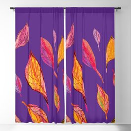 Fall pattern, autumn pattern, Blackout Curtain
