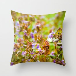 Ground Ivy Throw Pillow
