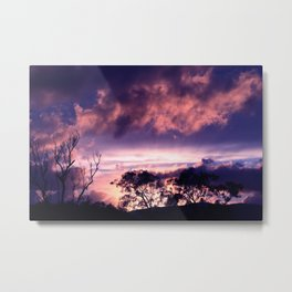 Strange Skies Metal Print