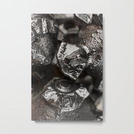 Metal Tricone Drill Bit Metal Print