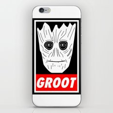 GROOT - GUARDIANS OF THE GALAXY iPhone & iPod Skin