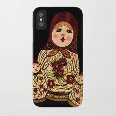 Russian dolls 2 / warmer colors  iPhone X Slim Case