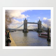 Tower Bridge #1 Art Print