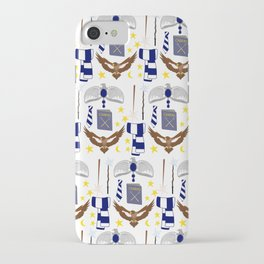 The House of Ravenclaw Pattern iPhone Case