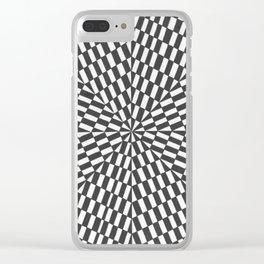 arte óptico 7 Clear iPhone Case