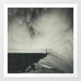 Vertigo Ocean - Inclined Seascape Art Print