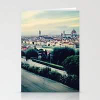 florence Stationery Cards featuring Florence by Rachel Weissman