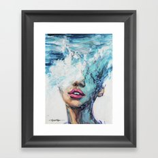 MerMind Framed Art Print