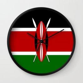 Flag of Kenya Wall Clock