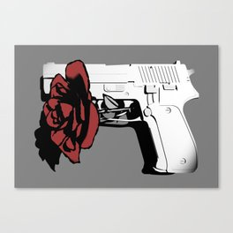 Hate kills love Canvas Print