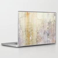 cracked Laptop & iPad Skins featuring Cracked Wall by Bestree Art Designs