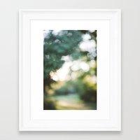 blur Framed Art Prints featuring blur by Whitney Retter