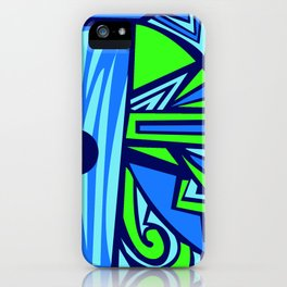 The Blue Elephant iPhone Case