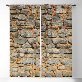 Brick Wall Blackout Curtain