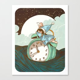 Sleep Fairy Canvas Print